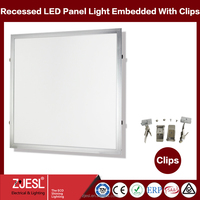 TUV CE RoHS SAA 600 600mm ultra-thin led recessed ceiling panel light