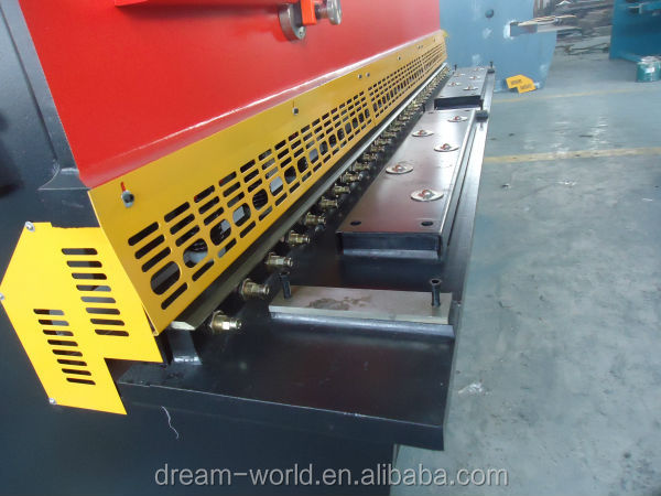 Dream World QC12K/QC12Y cnc hydraulic shearing machine price , electric shearing machine