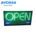 High Selling Acrylic Sign Outdoor Programmable Scrolling LED Open Sign