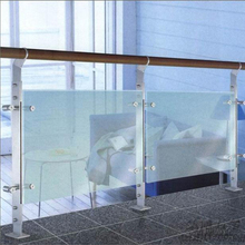 High quality guatantee modern glass handrail aluminum bracket