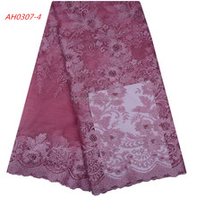 Wedding Dresses Textile Lace Fabric African Cord Lace Fabric High Quality Embroidered Lace Fabric 1099