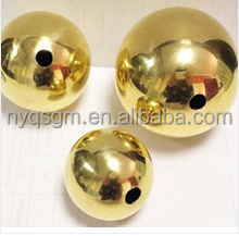 factory direct sale pure copper ball brass sphere hollow copper sphere