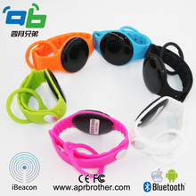 Dialog 14580 bluetooth low energy wristband/ bracelet iBeacon OEM/ODM beacon