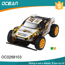 Plastic remote control 4ch high speed 1:18 diecast car with waterproof function