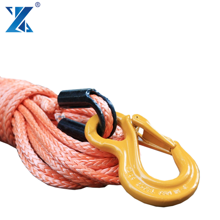 ATV/UTV Application and Electric Power Source amsteel blue Synthetic winch rope