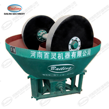 Bailing brand Gold ore wet pan mill for sale