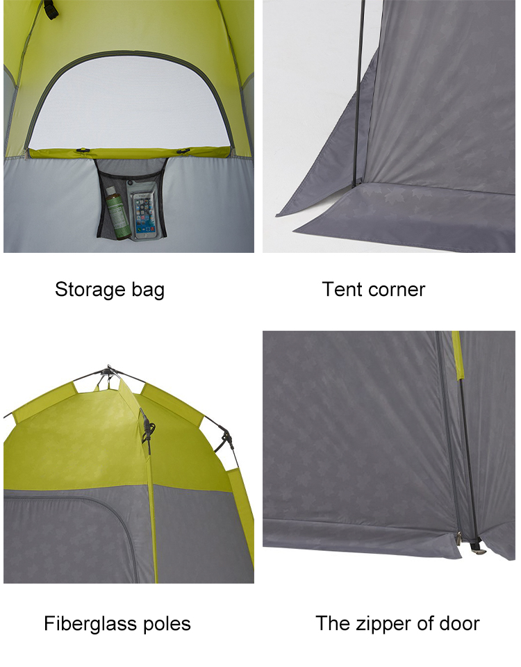 Outdoor leisure dressing and shower tent with good competitive price
