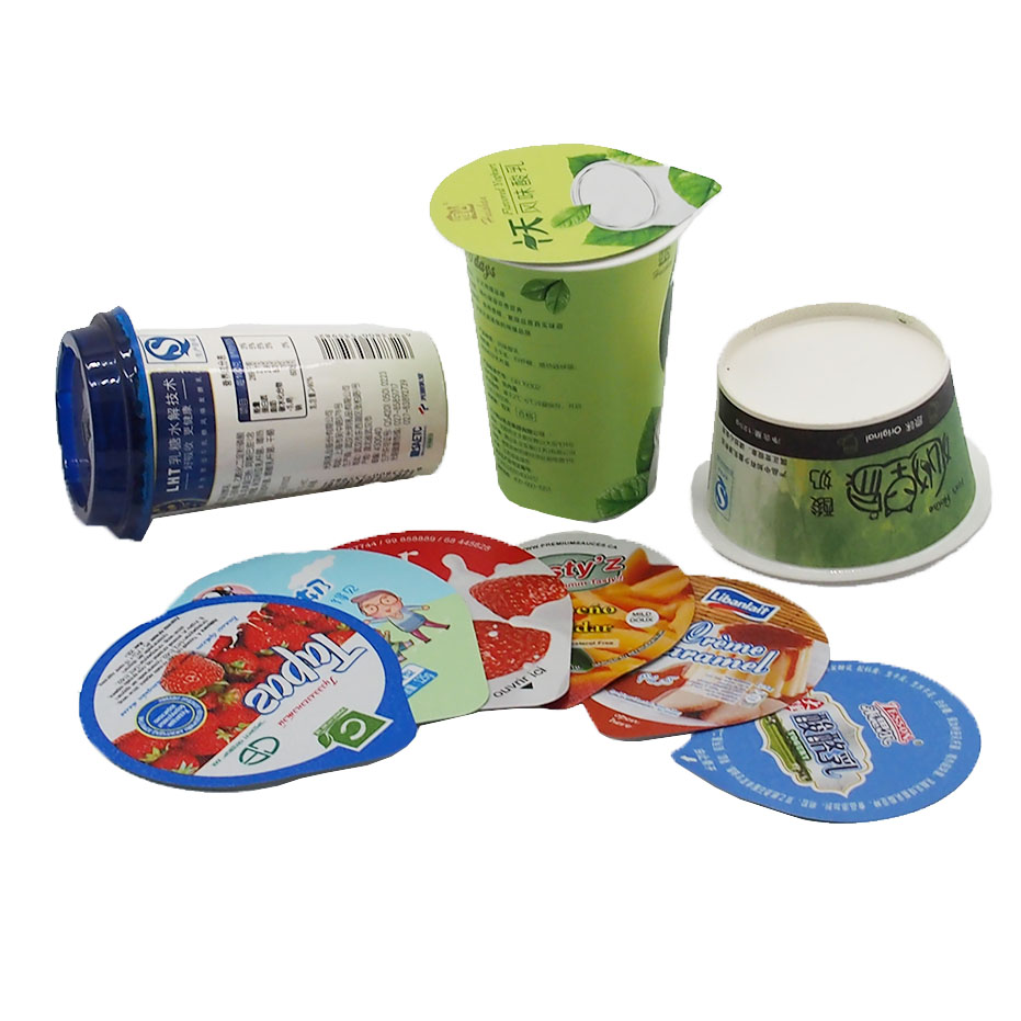 Custom Exquisite Aluminum Embossing Foil Lids