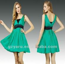 2012 hot selling fashion ladies casual dress