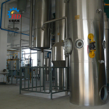 rice bran oil refining process machine and rice bran oil refining equipment