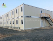Pre fabricated house sandwich building 20ft folding used shipping container office for sale
