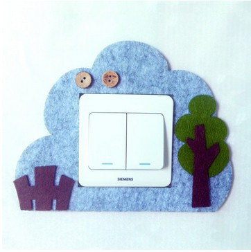 Felt Character wall stickers