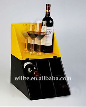 counter top wine display