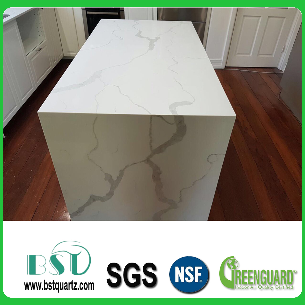 Calacatta White Quartz Countertop