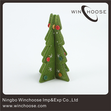 Felt Christmas Decoration 3D Christmas Tree Forms Y484534
