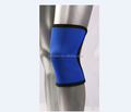blue neoprene brace