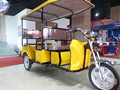 Yellow paint electric tricycle for sale