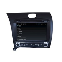 1080P Vedio Pure Android 4.4 Touch Screen Car DVD For Cerato Forte