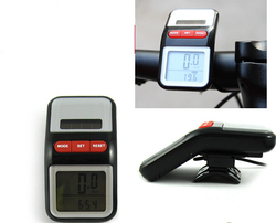 2016 popular Solar Power Bicycle Computer Bike Cycling LCD Digital Speedometer Odometer