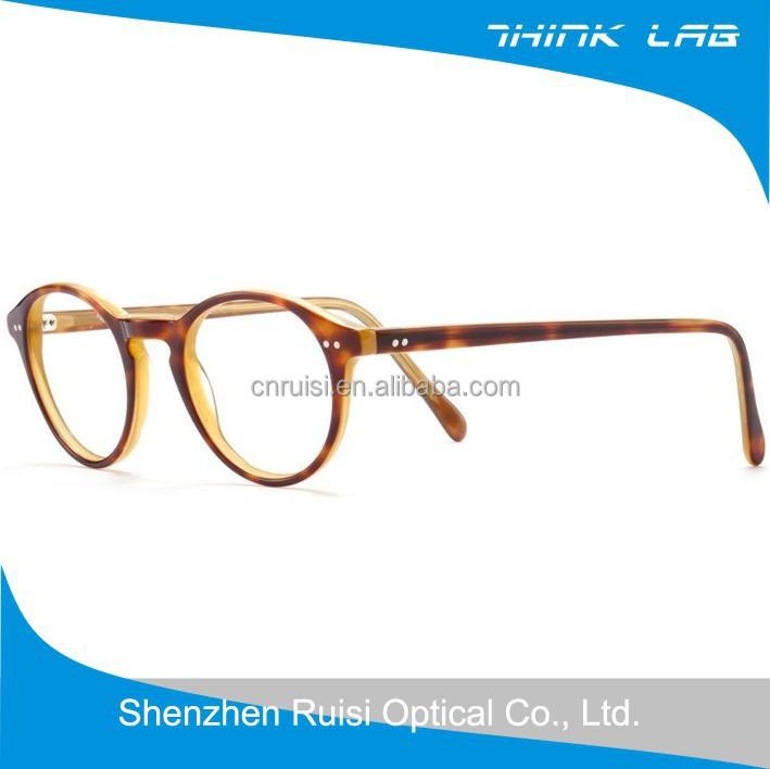 new style acetate optical retro glasses demi optical