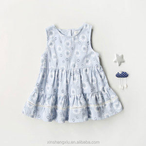 Newborn Baby Summer Cotton Dress Infant Baby Girl Dresses Baby Clothes
