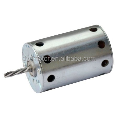 63ZY ( 63mm OD, Open Frame ) 12V, 100W DC Motor with/without Planetary Gearbox