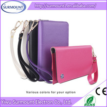 Best Selling New flip PU protective leather case cover Business Case With Wallet Style