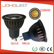 Delicate led spotlight china led mr16 4w 380lm 4x1w led gu10