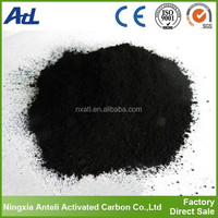 Wood activated carbon powder for brush teeth