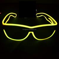 led flashing light up glasses LED luminous glasses, Ray-Ban section of the luminous glasses, safety glasses with led light