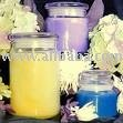 glass candle jars