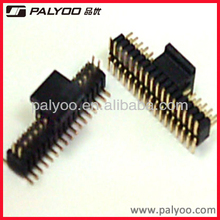 PCB Gold Planted SMT pin header 1mm pitch