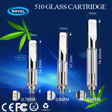 china supplier cbd tank oil atomizer 510 vaporizer pen glass thc co2 cbd oil vaporizer with metal drip tip