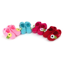 prewalker hand crochet newborn baby shoes