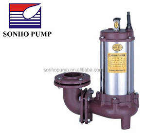 Taiwan 3hp submersible non-clogging electric sewage water pumps