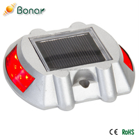 most common waterproof IP68 Solar Road Path Deck Dock Warning Lights