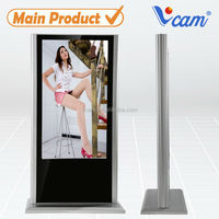 55Inch Floor Standing SD Card Player Wireless WIFI 3G Monitor