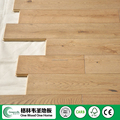 Best Sale European solid white oak 125x18mm stained wood flooring