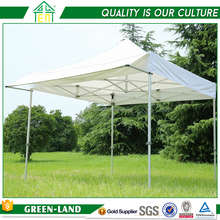 40mm Aluminum Pipe Frame Outdoor Camping Hexagon Flat Top Canopy Garage 4X6 Folding Tent