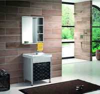 Sanitary wares furniture cabinet stainless steel modern bathroom products
