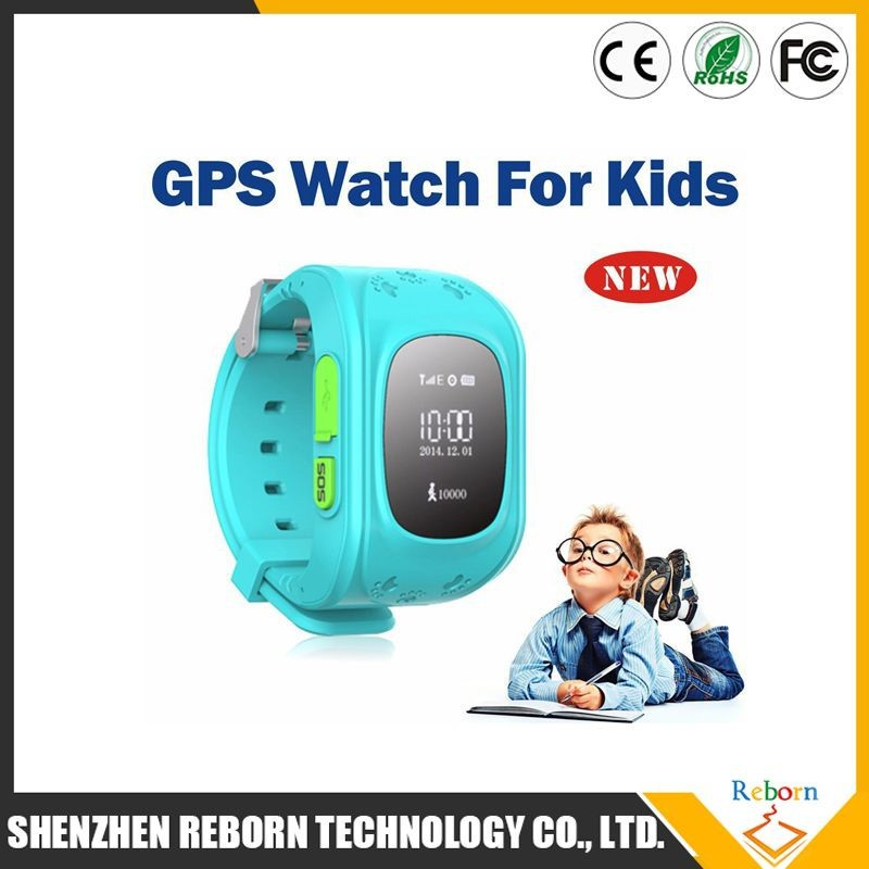 Hot selling alibaba china colorful sos gps tracking device for kids wrist watch