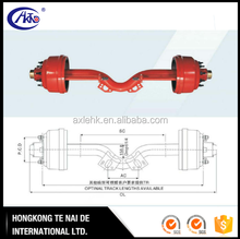 America Type Trailer Drop Spindle Axle