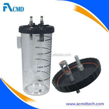 ACMD Suction Canister 2 Liter Screw Lid Type