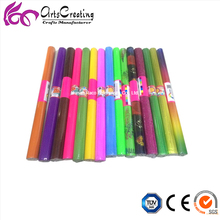 glossy/ metallic/ glitter/ stampling / printed colorful art craft corrugated paper