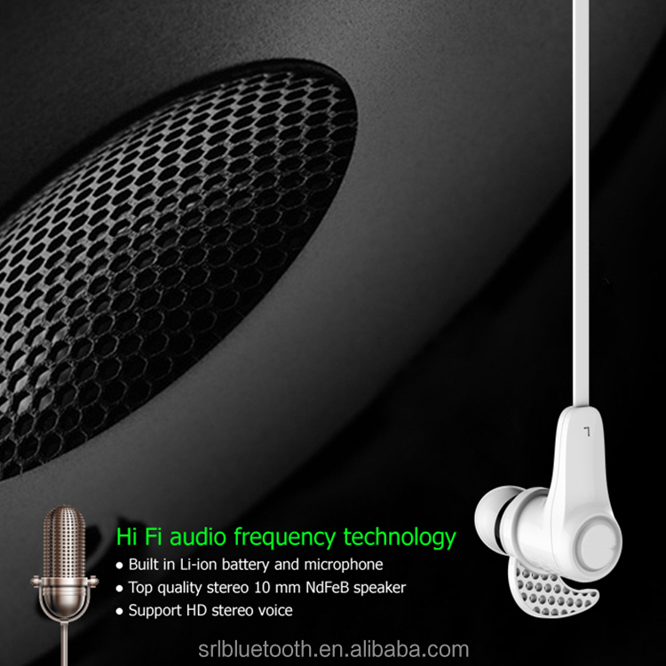 Sports design mini in ear v4.1 mobile wireless headphone with microphone