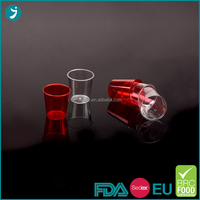 2016 Hot Sale wholesale 1oz/2oz disposable plastic shot glasses with competitive price