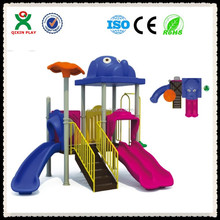 Dog top lovely kids outdoor play equipment early years,playing equipments schools,play park equipment QX-055A