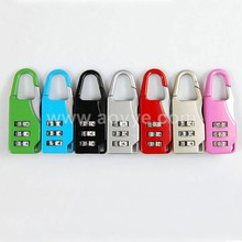 Safety padlock 3 digits number digital password luggage combination lock