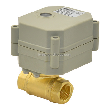 DN10 3/8'' 2Ways electric motor control valve 12v/24v