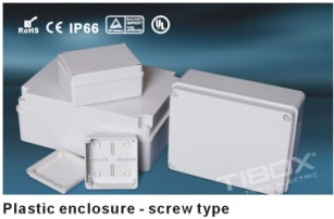 Poly cabonate ,ABS widely used in electronic plastic distribution box